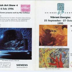 Leaflet 'Vibrant Energies'/'The British Art Show 4'