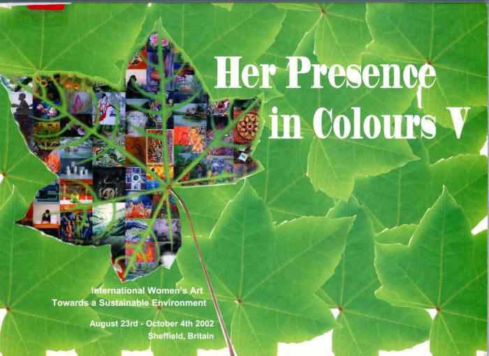 """s1.175 """"Her presence in colours V - international women's art towards a sustainable environment"""", England, 2002"""