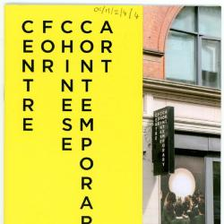 Booklet 'CFCCA Exhibitions and events July-December 2017'