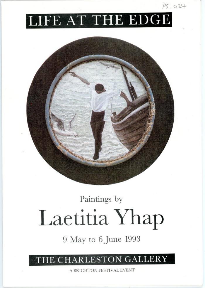 The Charleston Gallery, Life at the Edge: Paintings by Laetitia Yhap, (1993: United Kingdom)