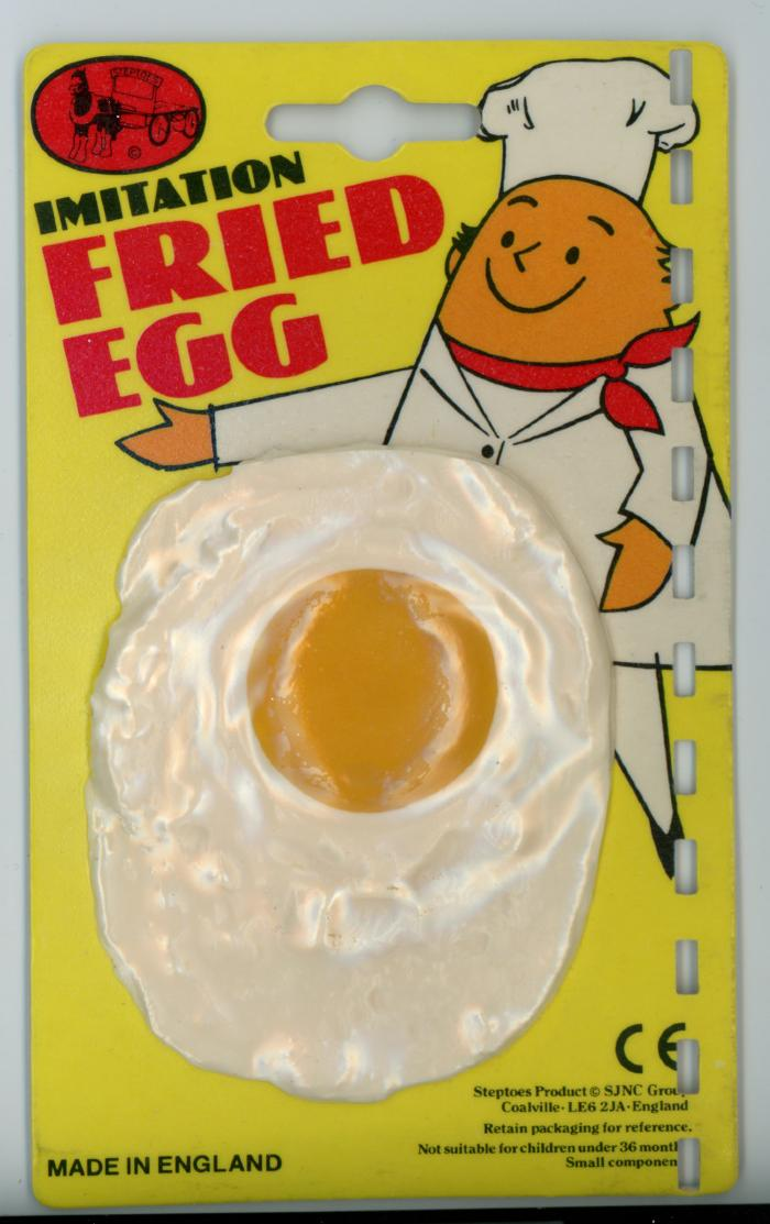 OC/6/2/10/1/4: Toy 'Imitation Fried Egg'