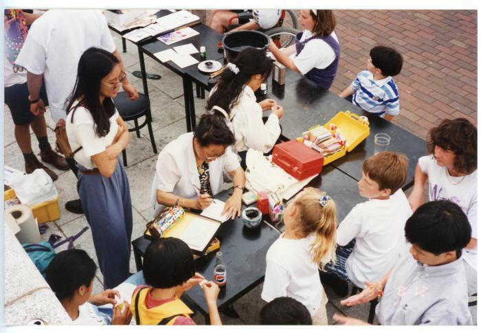 Photograph: A Chinese culture workshop