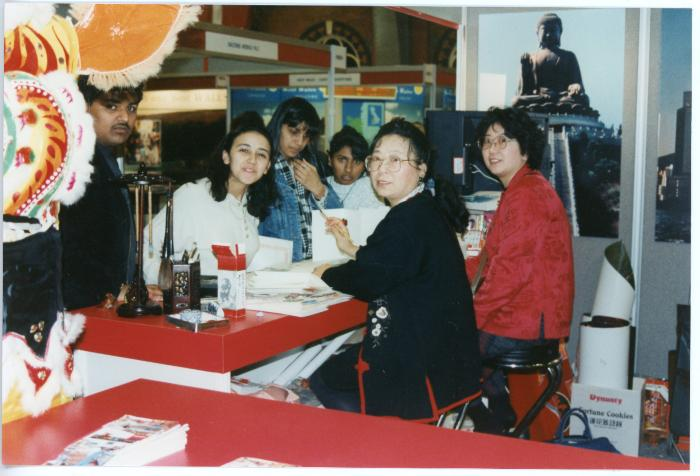 Photograph of a Chinese New Year workshop